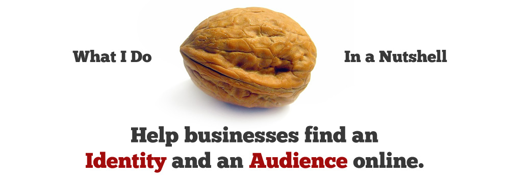 Help businesses find an Identity and an Audience online.